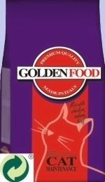 GoldenFood Cat Chicken, Salmon, Beef Mix 29/15 - (15kg)