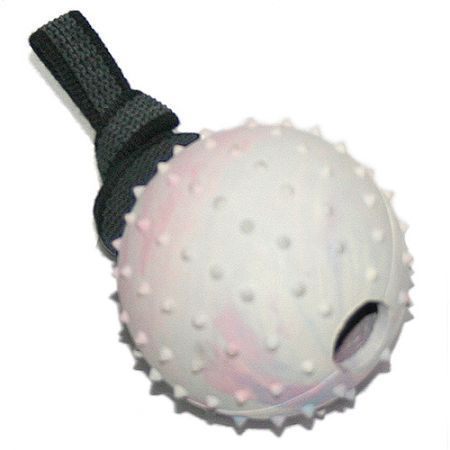 Hartgummiball hohl RubberGrip