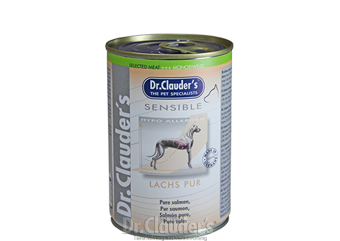 Selected Meat Sensible Lachs pur Hund 375g