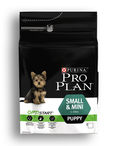 PRO PLAN® SMALL & MINI PUPPY MIT OPTISTART®
