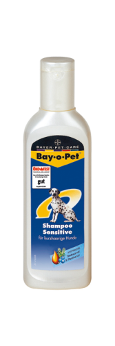 Bay-o-Pet Shampoo Sensitive Hund Kurzhaar