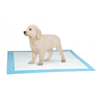 Puppy Pads-Vliespads für Puppy Potty WC L:48 cm B:40 cm hellblau