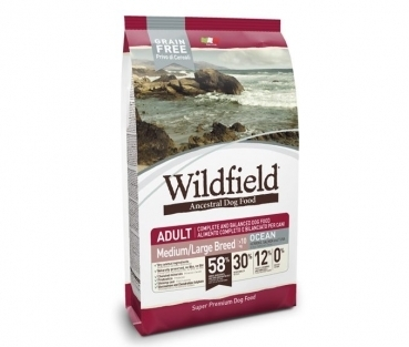 Exclusion Wildfield medium large Breed Ocean mit Hering, Lachs, Thunfisch 12 kg