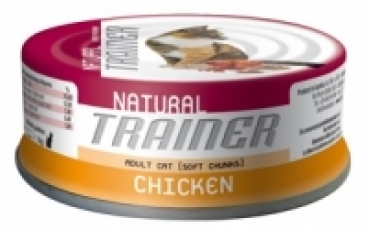 Trainer NATURAL Adult CHICKEN 10,5%-9% - 80 g Dose