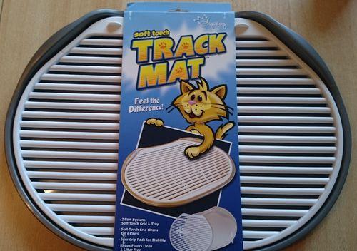 Soft Touch Track Mat Vorlagematte aus Kunststoff Farbe: silber / metallic