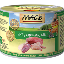 MACs Cat Dose Ente, Kaninchen, Rind