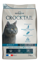 Pro-Nutrition CROCKTAIL ADULT STERILIZED MIT FISCH  10 Kg