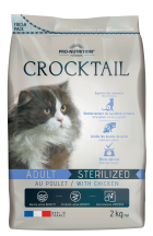 Pro-Nutrition Crocktail CROCKTAIL ADULT STERILIZED MIT HUHN 10 Kg