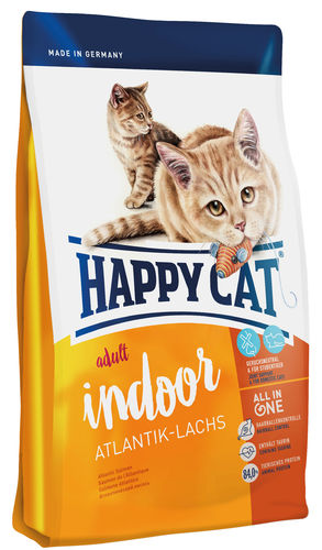 Happy Cat Supreme Indoor Atlantik - Lachs
