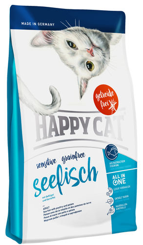 Happy Cat  Grainfree Seefisch