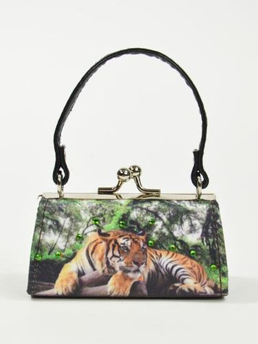 "MiniBag, Mario Moreno, ""Save the planet"" - Tiger im Dschungel"