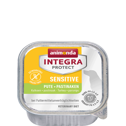 Animonda Integra Protect Sensitive Adult Pute+Pastinake 11x150 g