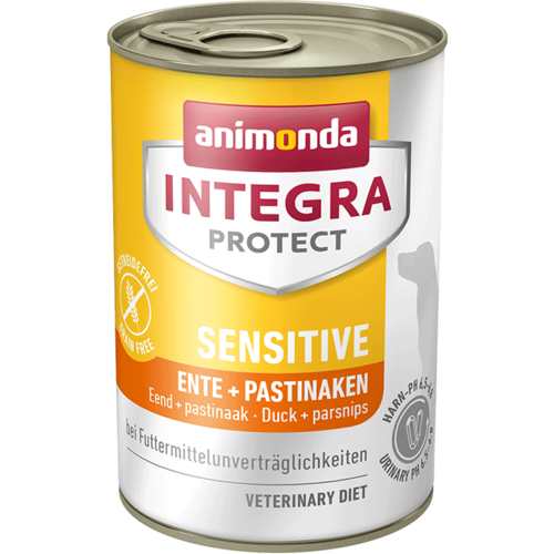 Animonda Integra Protect Sensitive Adult Ente + Pastinaken  6 x 400 g Dosen