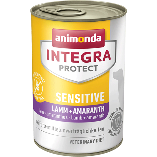 Animonda Integra Protect Sensitive Adult Lamm + Amaranth  6 x 400 g Dosen