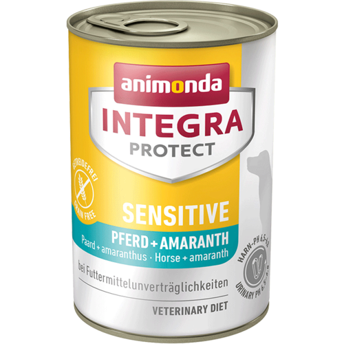 Animonda Integra Protect Sensitive Adult Pferd + Amaranth  6 x 400 g Dosen