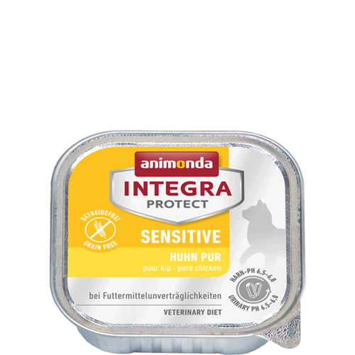 Animonda Katze Integra Protect Sensitive Adult Huhn pur 16 x 100 g