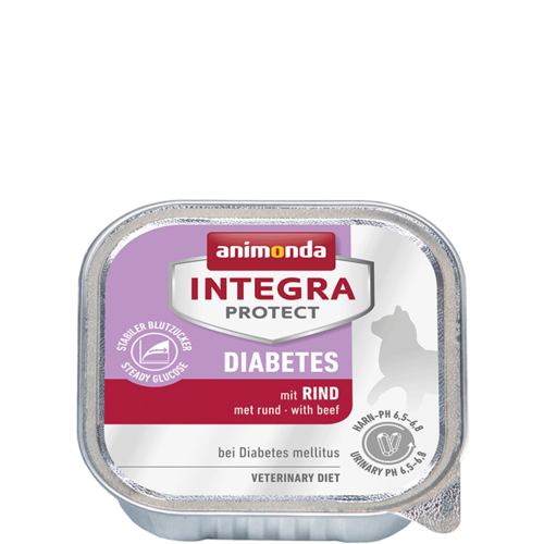 Animonda Katzen Integra Protect Diabetes Adult mit Rind  16 x 100g
