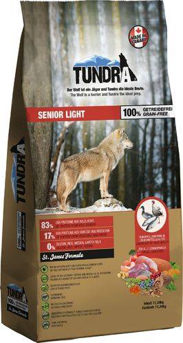 Tundra Dog trocken Senior/Light 11,34kg