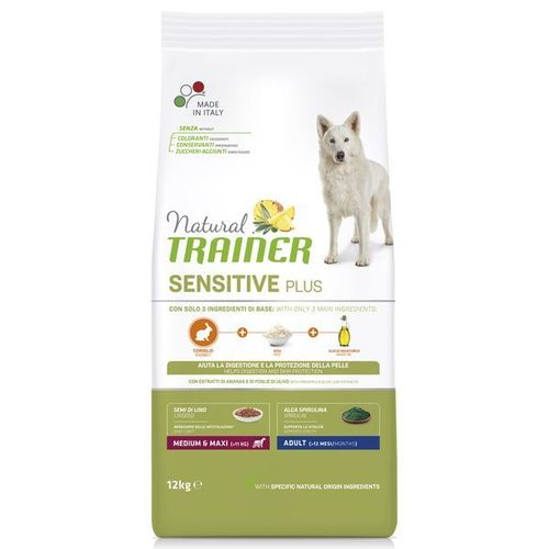 Trainer Sensitive Kaninchen Medium Maxi 12 KG